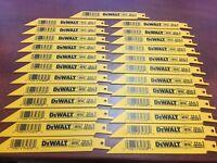 """100 DEWALT 6/"""" DW4808B Sawzall Scie Lames 14TPI Bi Métal DCS380B DCS367B"""