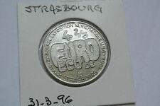 4 2/3 EURO DE STRABOURG 31 MARS 1996