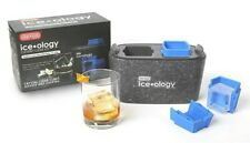 DEXAS ICEOLOGY SILICONE MAKER FOR CRAFT COCKTAIL 2 COUNT SQUARE