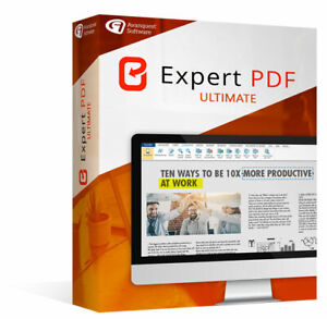 Avanquest Expert PDF 14 Ultimate, Download, Windows