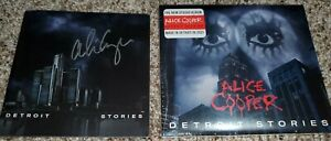 Alice Cooper - Detroit Stories cd (signed/autographed booklet)