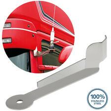 pour Scania d/écoration de marches d/écoupe au laser inox super poli 2 pi/èces