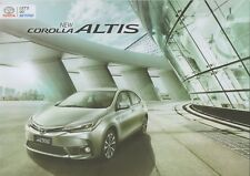 Toyota Corolla Altis car (made in Thailand for Indonesia)_2017 Prospekt Brochure