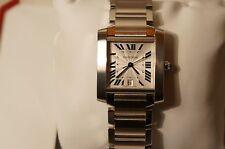 Cartier tank francaise automatic men's watch