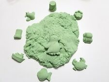 Sparkling 2 Lb Green Refill Space / Moon / Magic Play Sand, Mold-N-Play Kid Fun