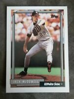 1992 Topps - Chicago White Sox - #11 Jack McDowell