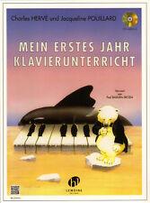 Charles Hervé Jacqueline Pouillard Mein erstes Jahr Klavierunterricht Noten