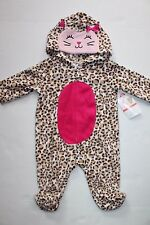 GIRLS NEWBORN SPOTTED LEOPARD CAT HALLOWEEN COSTUME LITTLE WONDERS