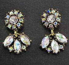 statement S&W crystal long Earrings e380 Exquisite New design women gorgeous bib