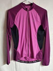 Pearl Izumi Women's Elite Long Sleeve Gull Zip Cycling Jersey Size Medium