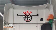 Daf rear cab logo -27– Space Cab XF CF Emblam Sticker Graphic
