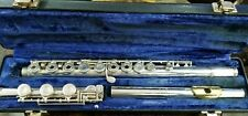 Gemeinhardt KGG Custom Flute with Solid Silver Head Gold Lip Plate in Case