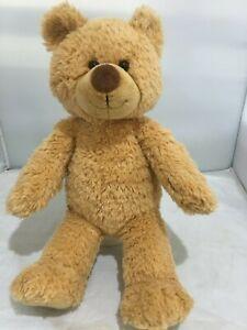 PLAIN LIGHT BROWN TEDDY TED YOGI RARE LIMITED EDITION BUILD A BEAR