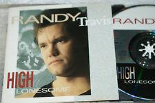 RANDY TRAVIS  **  HIGH LONESOME  **  CD ALBUM