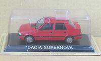 """DIE CAST """" DACIA SUPERNOVA """" LEGENDARY CARS SCALA 1/43"""