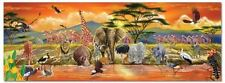 Melissa & Doug African Plains Safari Jumbo Jigsaw Floor Puzzle (100 pcs, over 1