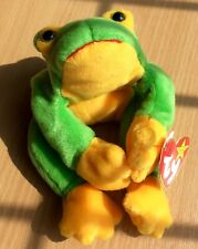 Ty Beanie Babies Smoochy The Frog - Mint With Tags