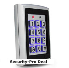 US Metal 125KHz RFID Card+Password Security Door Access Control Keypad Backlight