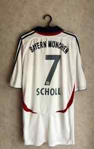 Bayern Munich  Mehmet Scholl 2006-2007 away Football Shirt Jersey