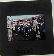 JOHNNY BENCH Cincinnati Reds HALL OF FAME 1989 14 X ALL STAR  ORIGINAL SLIDE 7