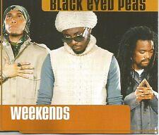 BLACK EYED PEAS Weekends UNRELEASE & REMIX & VIDEO CD Single SEALED USA seller