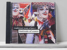 Traditional Music of Peru, Vol. 1: Festivals of Cusco by Various Artists CD ~VG+