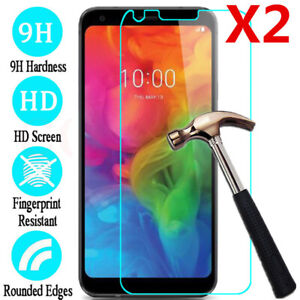2Pack Explosion-proof Tempered Glass Screen Protector For LG G4 5 G6 G7 Q6 Q7 Q8