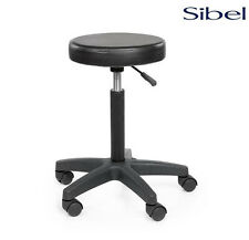 SIBEL Rivoli Cutting STOOL - Padded Hairdressing, Beauty, Barber, Tattoo Chair