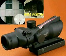 Trijicon ACOG 4X32 Scope BDC ! RED FIBER OPTIC RCO-ARD TA31 CLONE + KILL FLASH