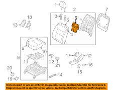 KIA OEM 2012 Sorento Driver Seat-Seat Back Heater Left 883901U030