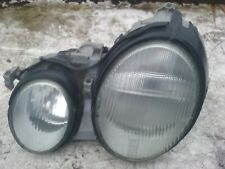 MERCEDES CLK HEADLAMP LEFT 147551 W208 COUPE 1997>02 C208 9B83 BLACK 040