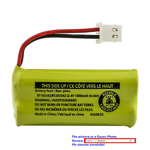Kastar BT183342 / BT283342 NiMH Battery for AT&T EL52250 EL52300 EL52303 EL52350