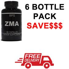 RPS ZMA, Zinc, Magnesium, Vitamin B6, Testosterone Booster 6 BOTTLES