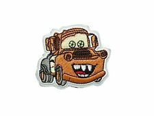 MATER the Tow Truck in Cars Pixar Disney Embroidered Iron On/ Sew On Patch