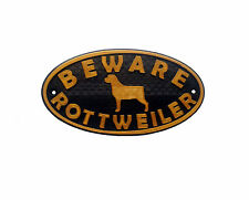 Handmade Rottweiler Signs & Plaques