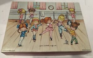 VINTAGE SPRINGBOK JOAN WALSH ANGLUND BALLET CLASS JIGSAW PUZZLE COMPLETE 1983