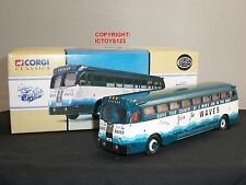 CORGI 98473 YELLOW COACH 743 JOIN THE WAVES CHICAGO AMERICAN DIECAST MODEL BUS