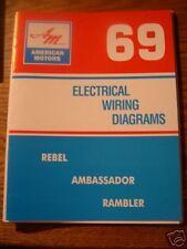 buy rebel car manuals and literature ebay ramble rebel 1969 amc american motors javelin rebel ambassador rambler wiring manual
