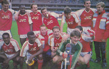 ARSENAL FOOTBALL TEAM PHOTO>1988-89 SEASON
