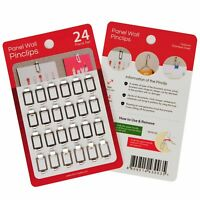 Fabric Panel Wall Clips and Hooks,Pin Clips for Clothes Cubicle Walls Decoration