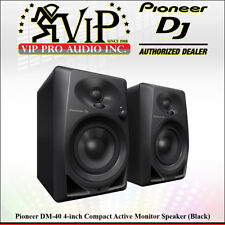 Pioneer DM-40 4-inch 2-Way Bass Reflex Active Monitor Pro Speakers (Black/Pair).