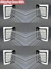 Brass Square Massage Shower Body Jet Spray For Spa Bath & Shower System 6 pieces