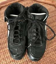 Nike Boys Basketball Shoes Size 4.5 Medium Black White