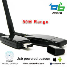 iBeacon BLE Bluetooth 4.0 compatible with Eddystone- USB Aprilbeacon 306