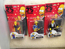 NECA Simpsons 25th Anv Greatest Guests- R.E.M. (REM): Peter Buck, Mills, Stipe