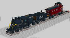 Lego Custom Instruction Train with caboose ( instruction only)