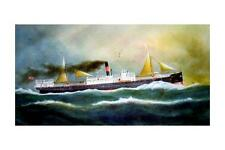 KAPUNDA of the Melbourne Steam Ship Co painting Art Modern Digital Postcard