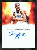 MAURICE HARKLESS - 2013 Panini Brilliance OCA On Card Auto AU Orlando Magic #47