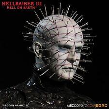 "Hellraiser 3 Hell on Earth Pinhead 12"" Figure Mezco IN STOCK"