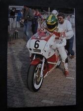 Photo Bimota YB4 E #6 Virginio Ferrari (ITA) Formula 1 Assen 1987 big